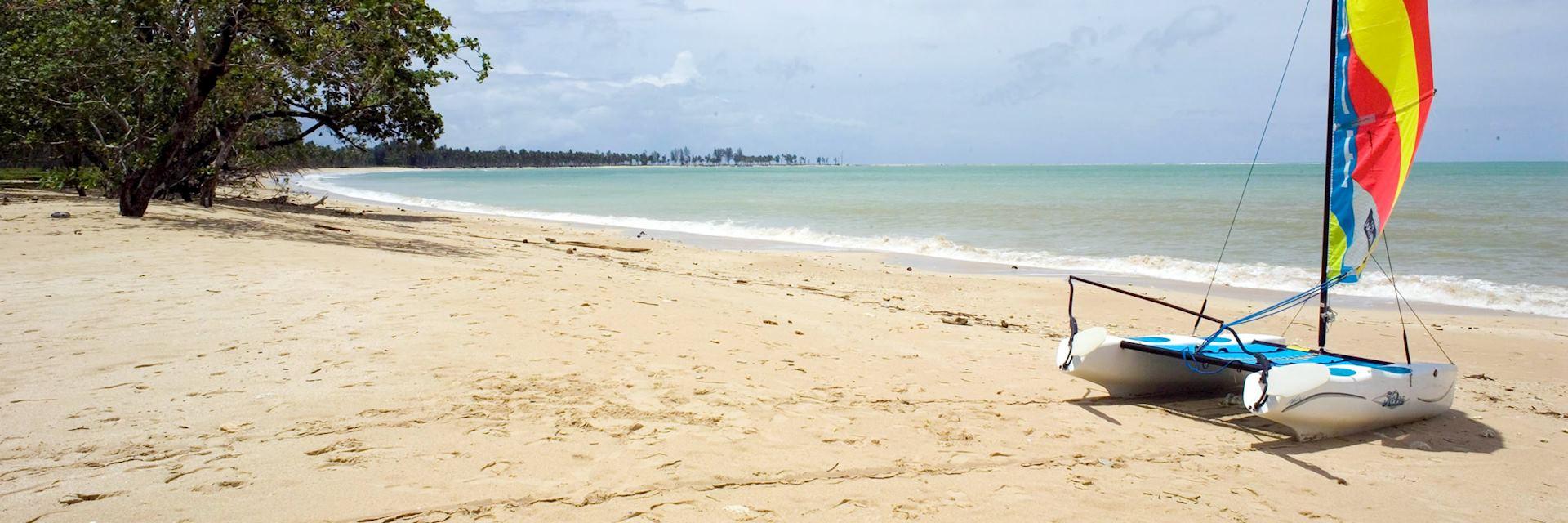 Beach at the the Sarojin