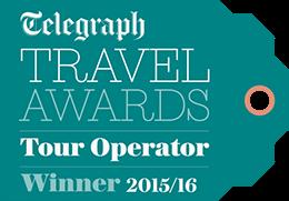 Telegraph Travel Awards 2015-16