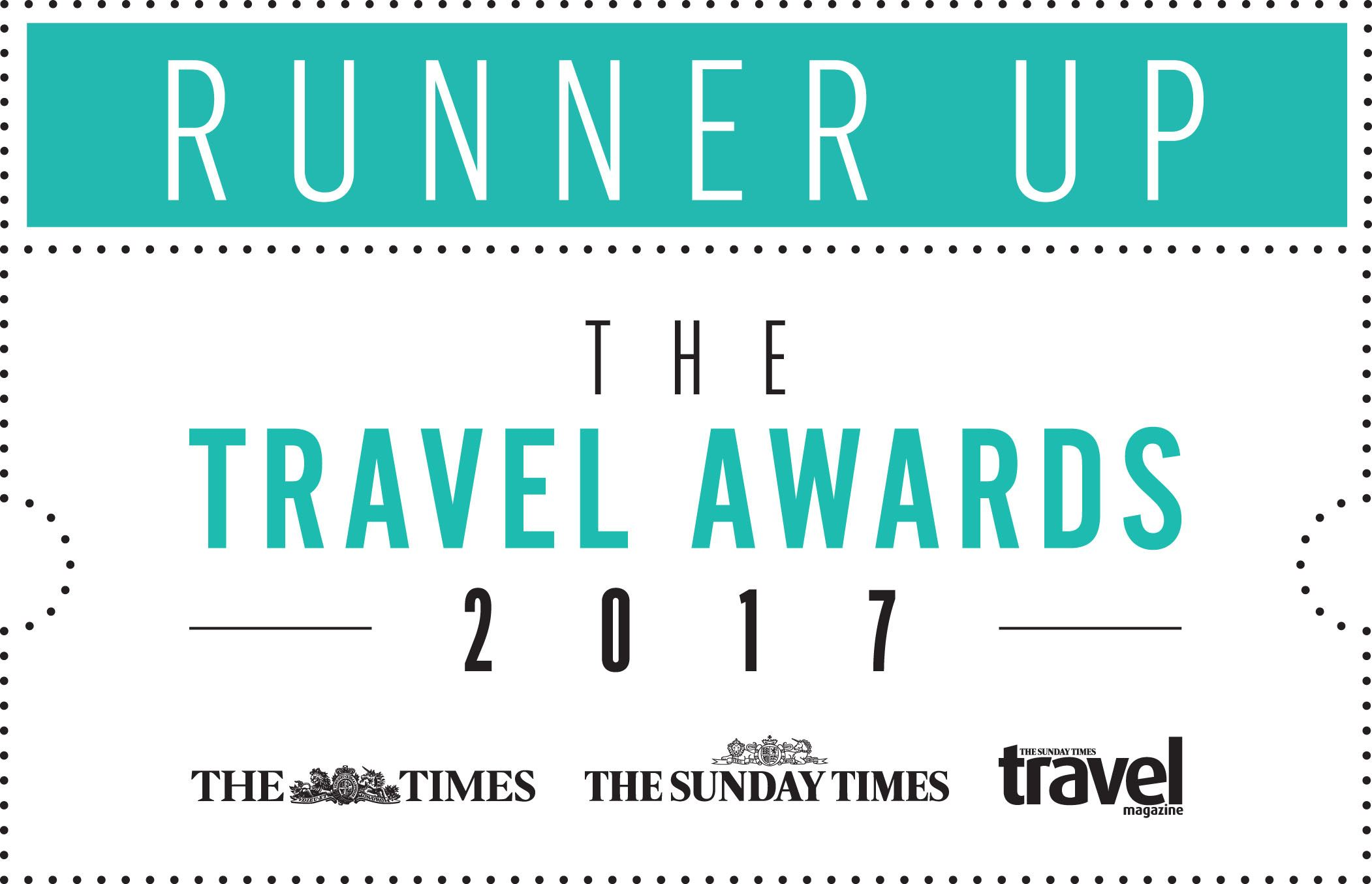 The Times Best Luxury Tour Operator 2017