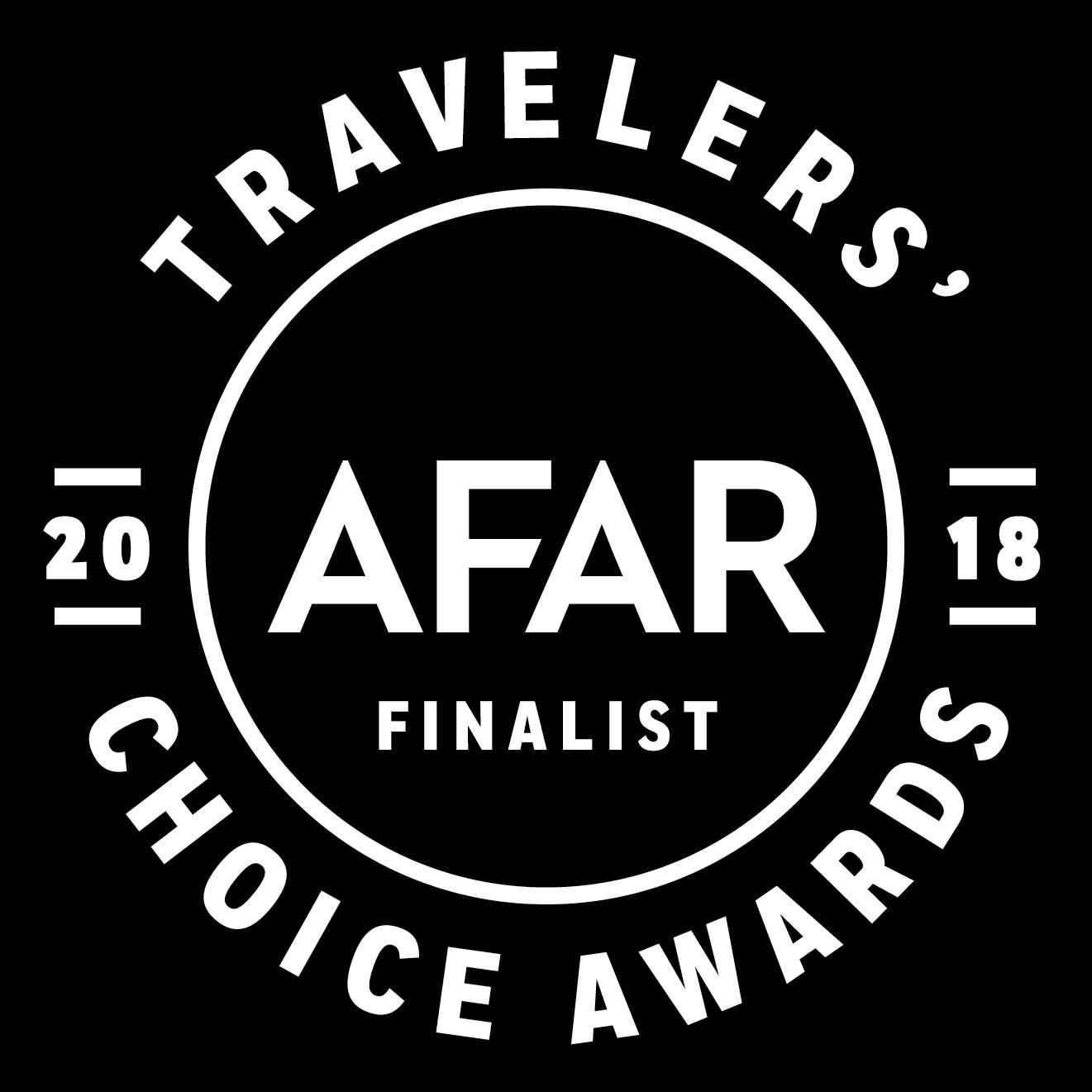 Travelers' 2018 Choice Awards