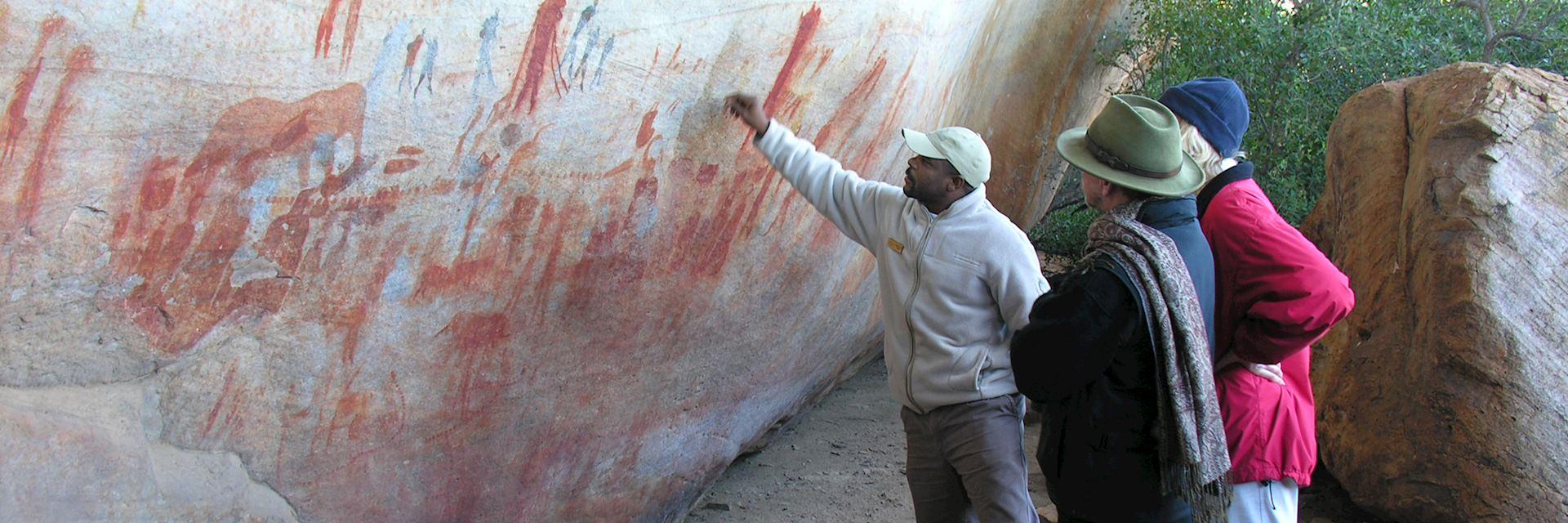 San Rock Art guide, Bushmans Kloof