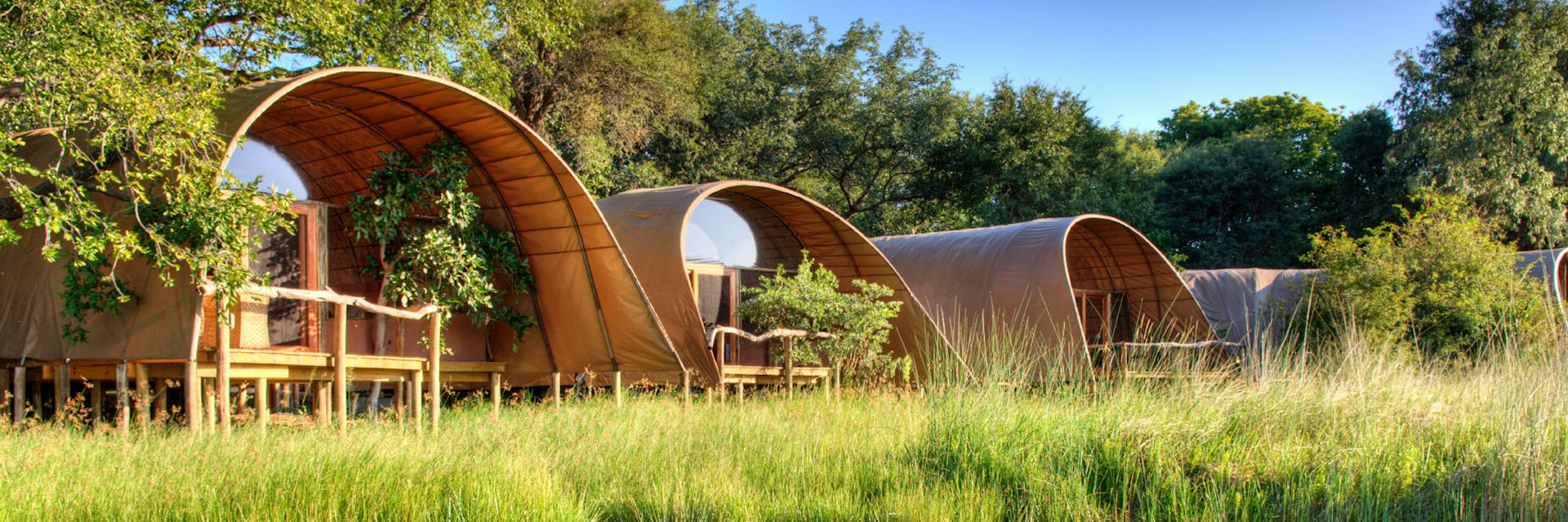 Camp Okuti, Moremi Wildlife Reserve