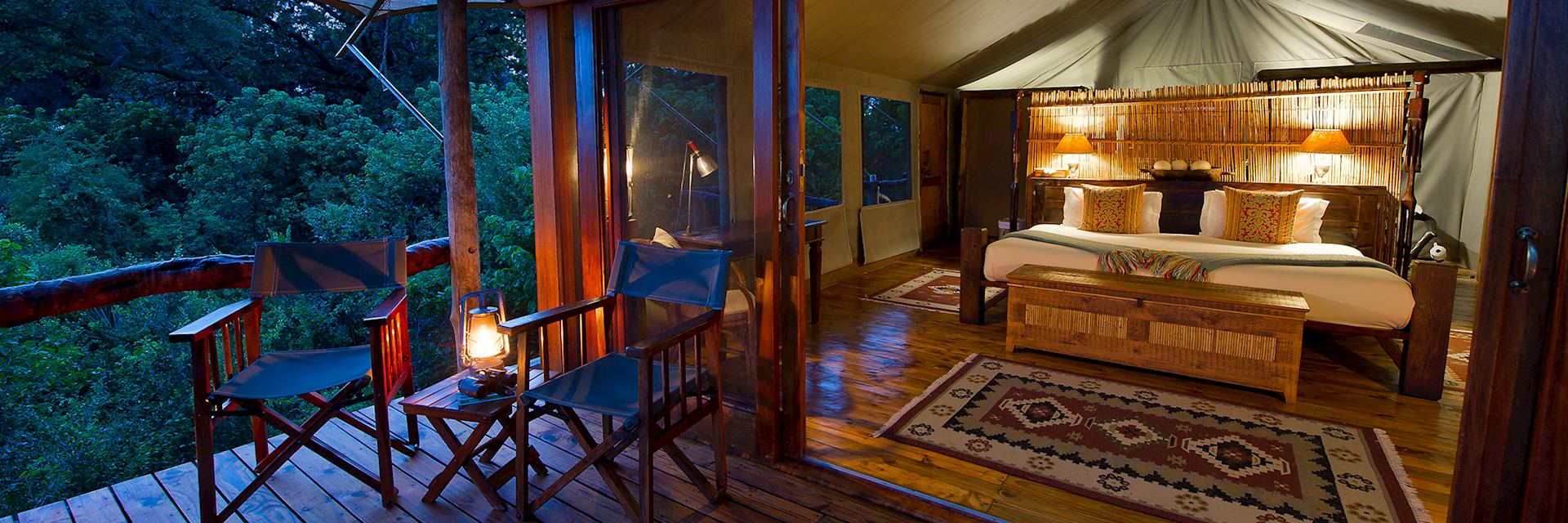 Tubu Tree Camp, Botswana