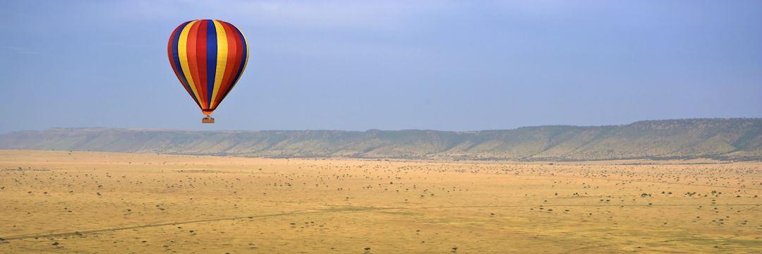 Balloon flight over the Masai Mara