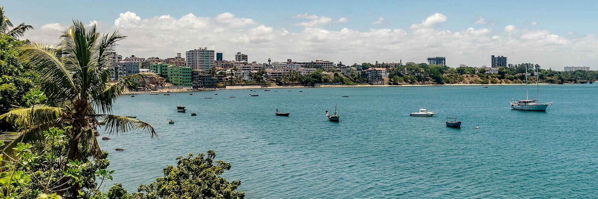 Mombasa waterfront, Kenya