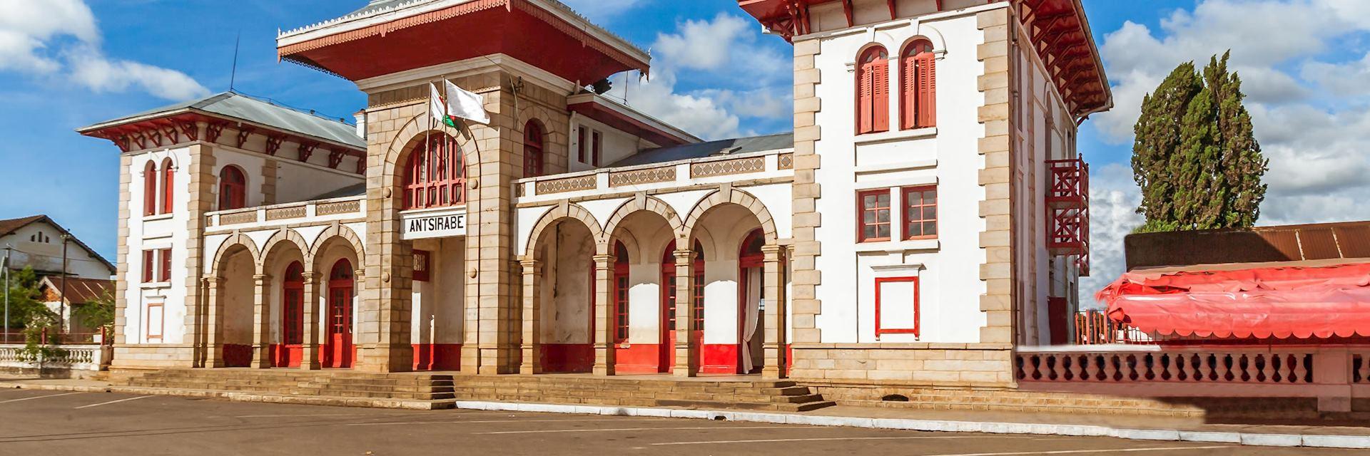 Railway station, Antsirabe