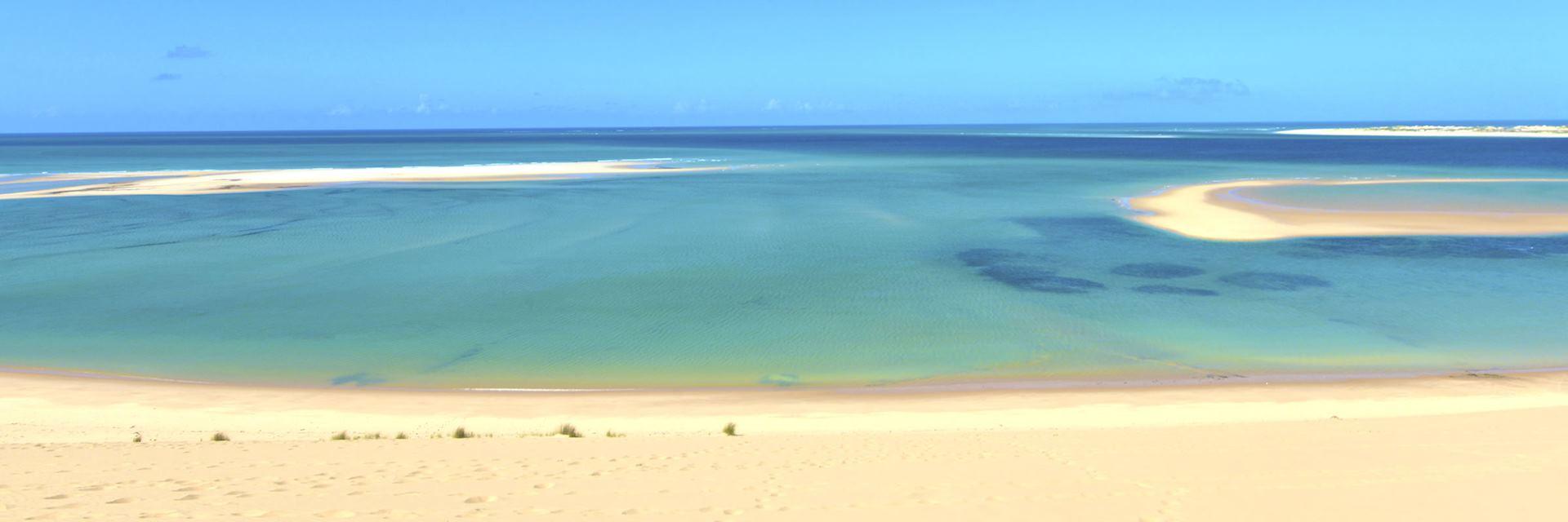 Bazaruto Island on Mozambique