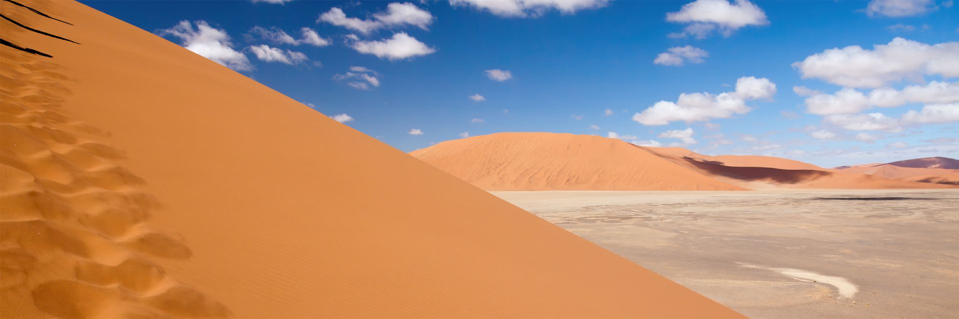 The dunes at Sossusvlei in Namibia