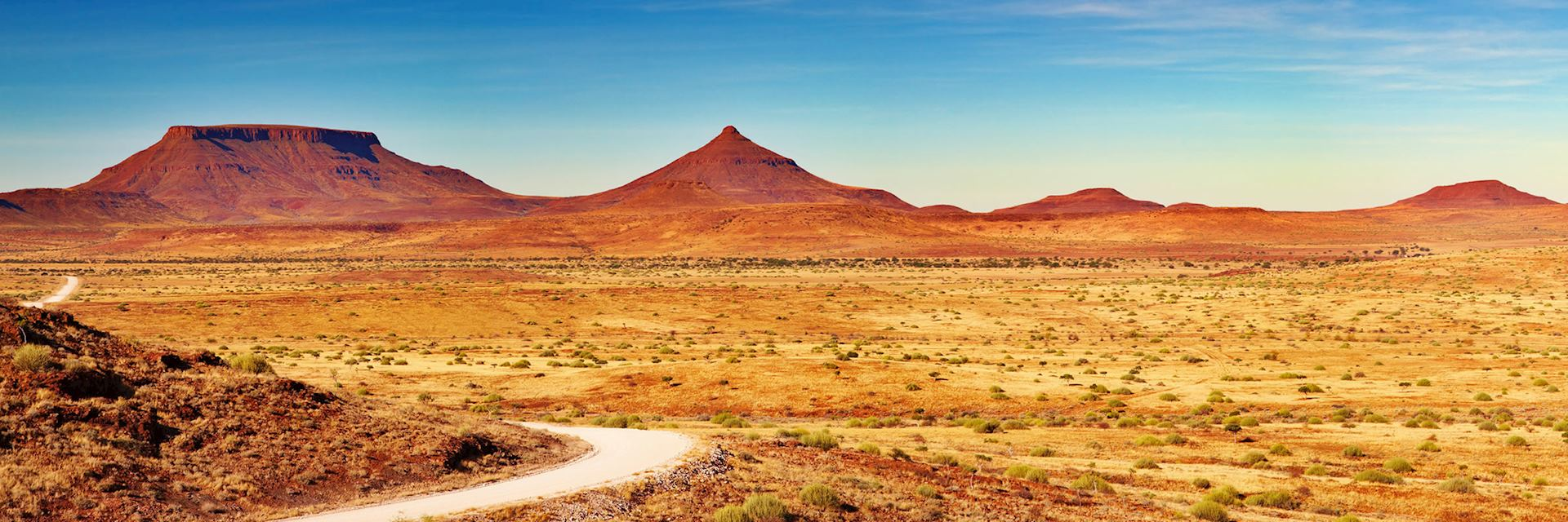 Damaraland in the largely unpopulated north-central part of Namibia