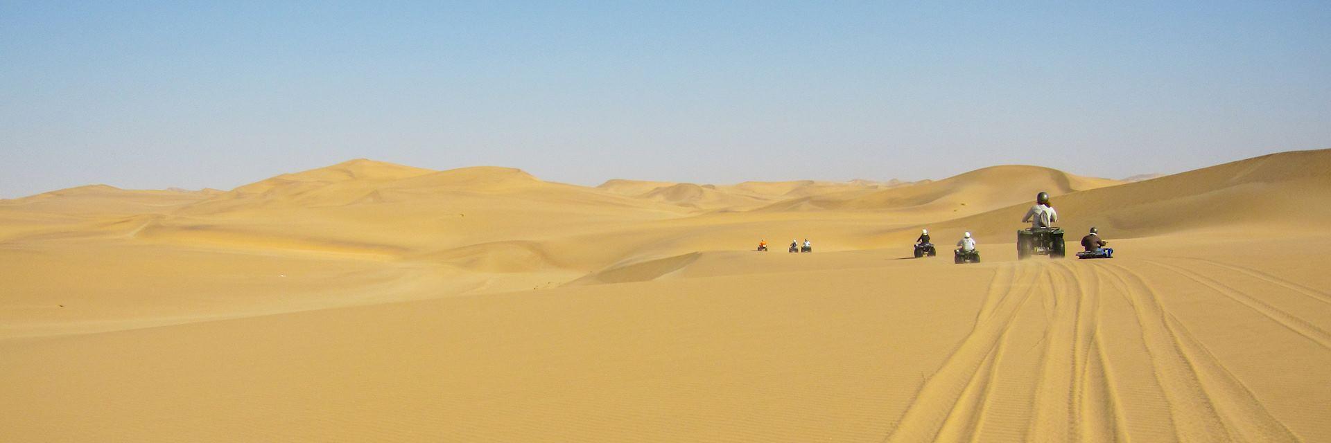 Quad Biking, Namibia