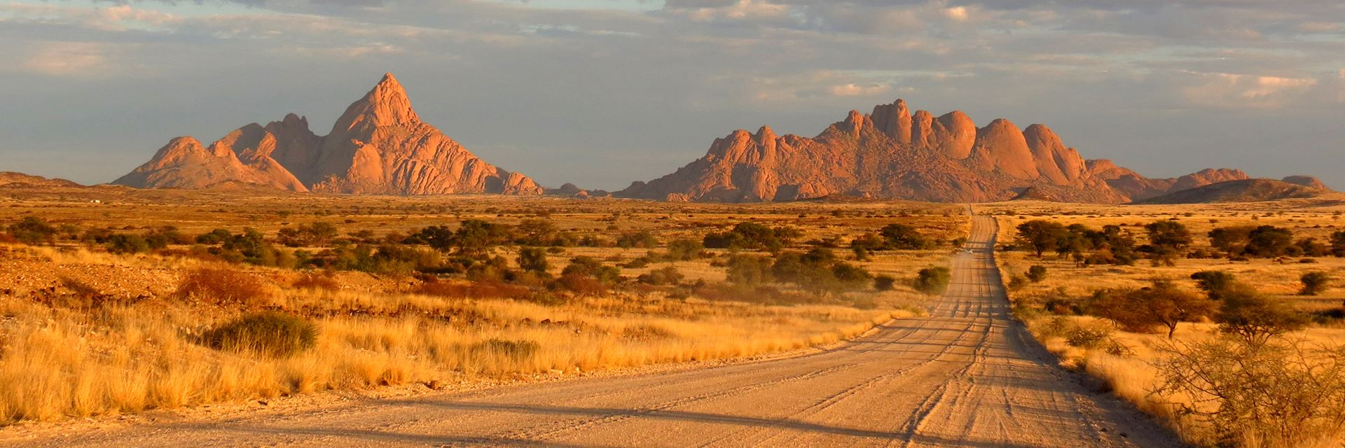 Driving in Spitzkoppe, Namibia