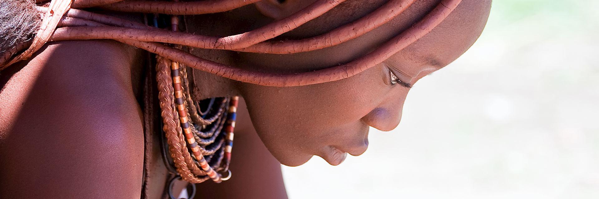Himba woman, Kaokoland