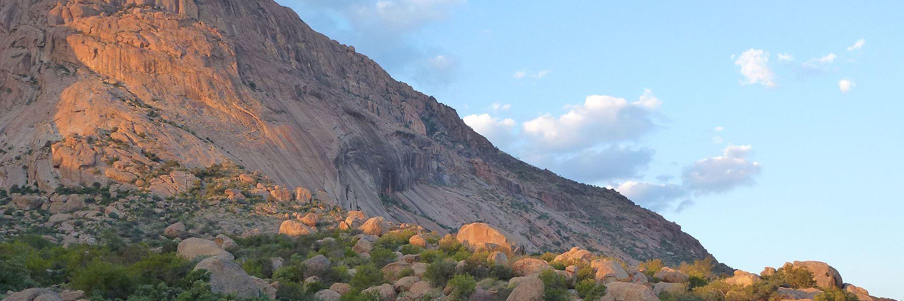 Visit Erongo Mountains, Namibia