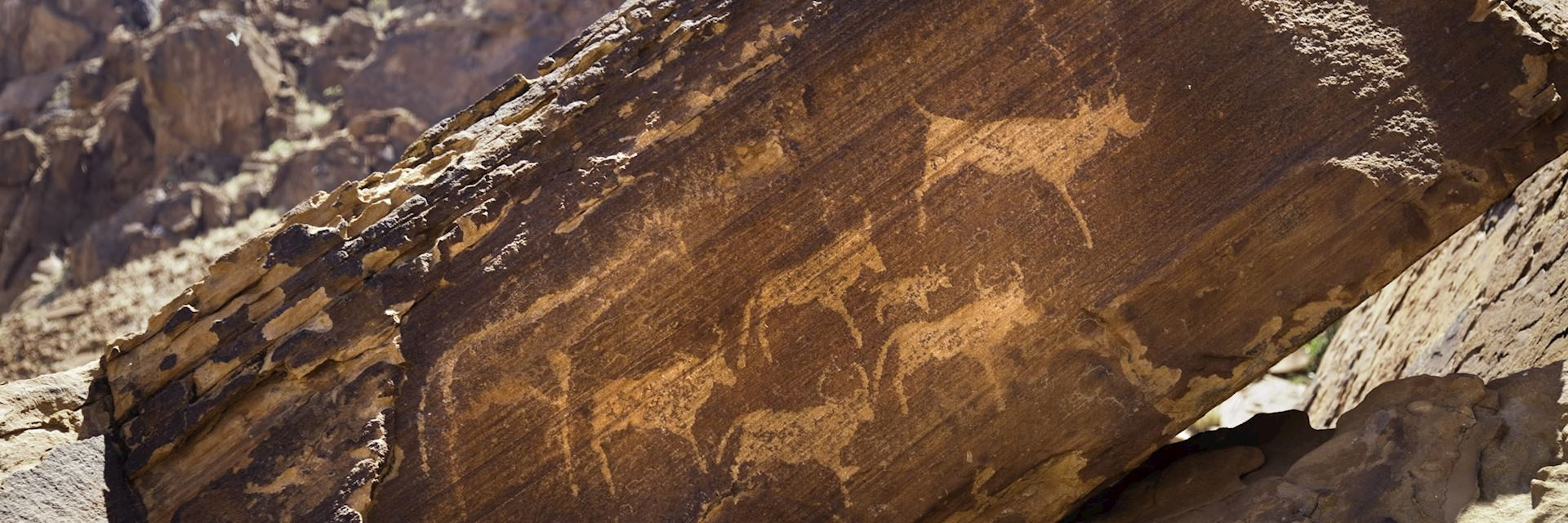 San rock art, Namibia