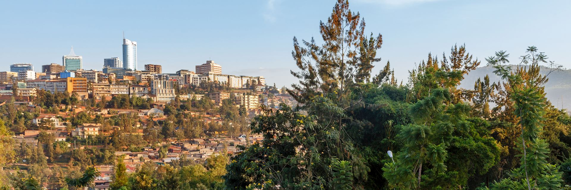 View of Kigali from the Genocide Memorial