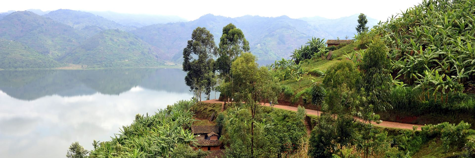 Lake Ruhondo in Rwanda