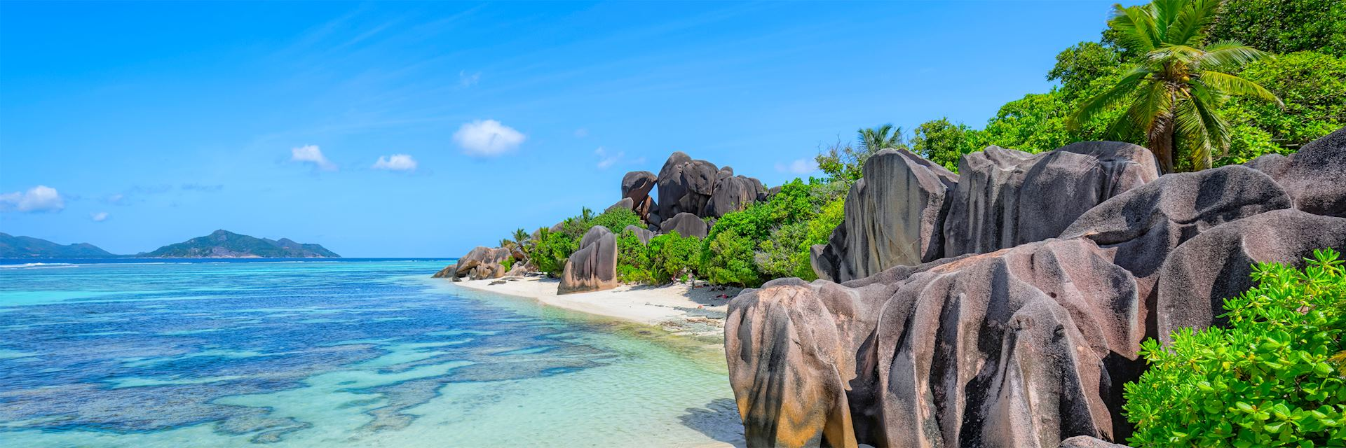 Beach on La Digue