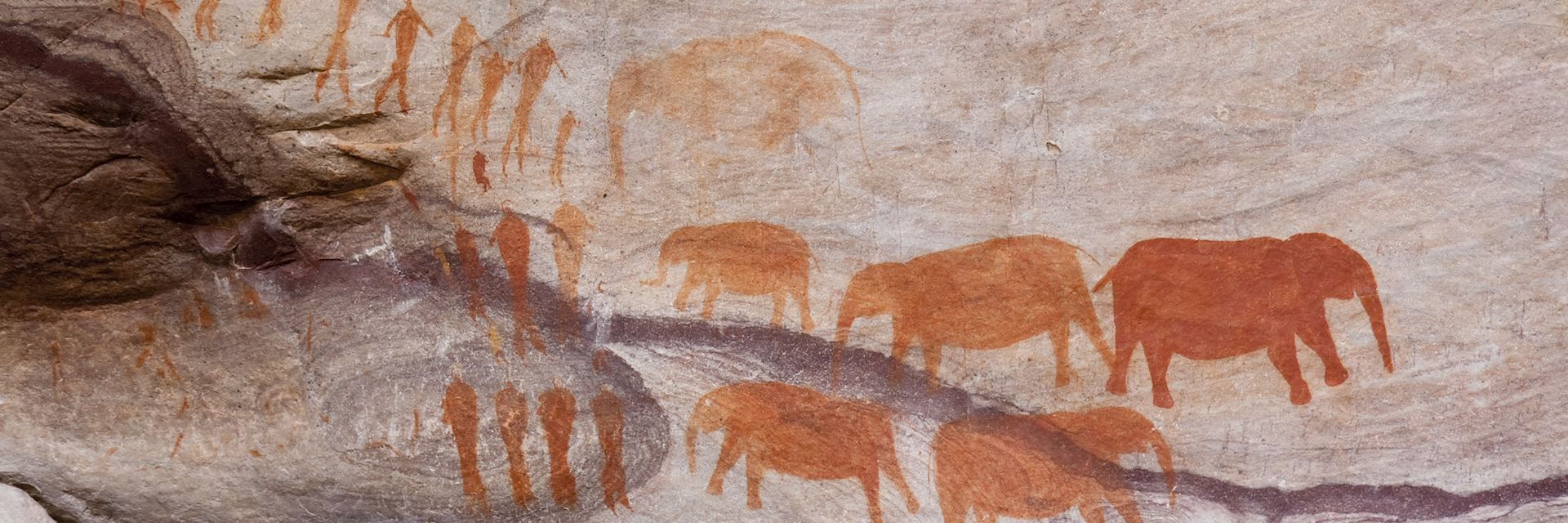 Bushman cave paintings, Cederberg Mountains