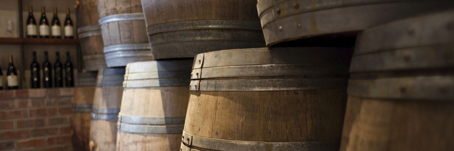 Wine barrels, Cape Region