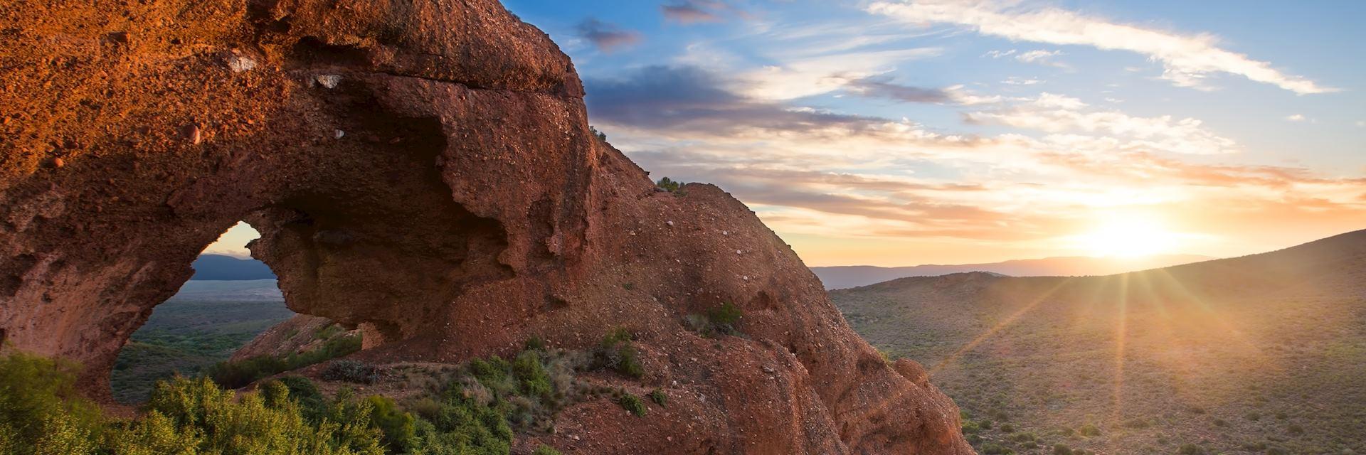 Red Rock Mountain near Calitzdorp