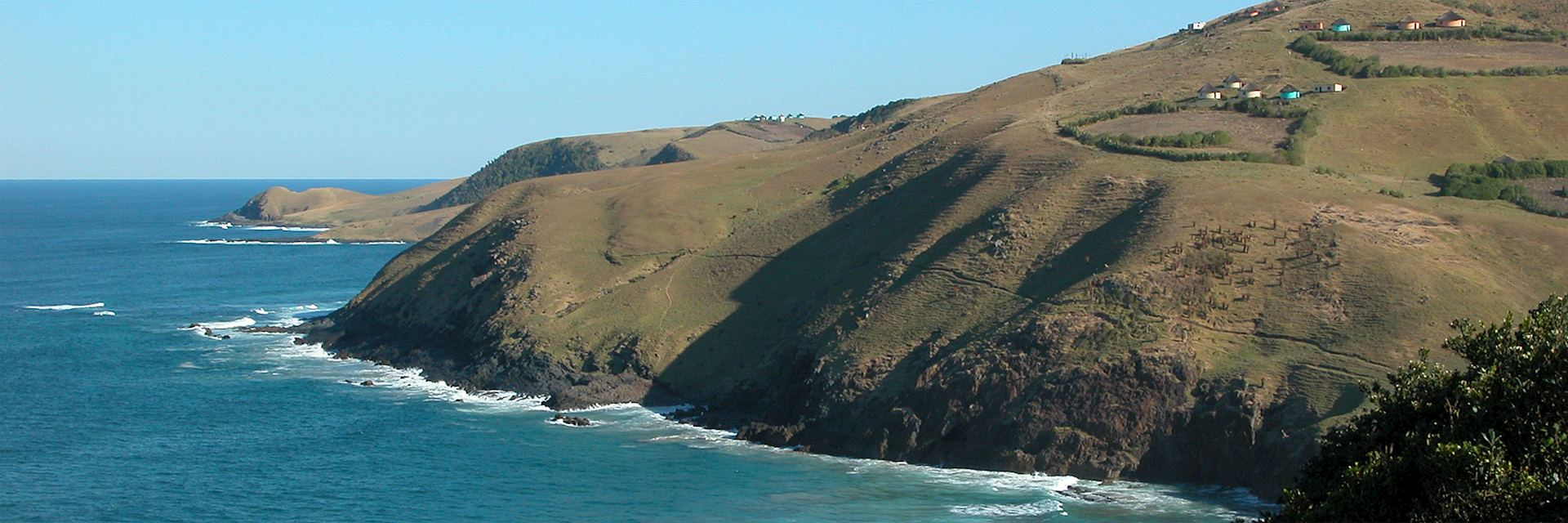 Wild Coast Coastline at Coffee Bay