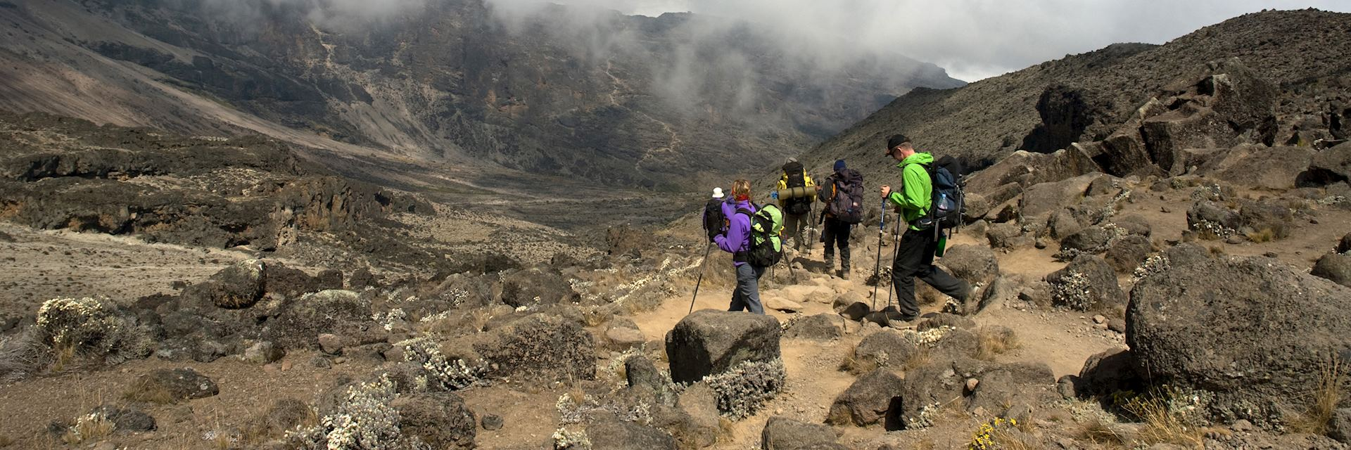 Hiking Mount Kilimanjaro