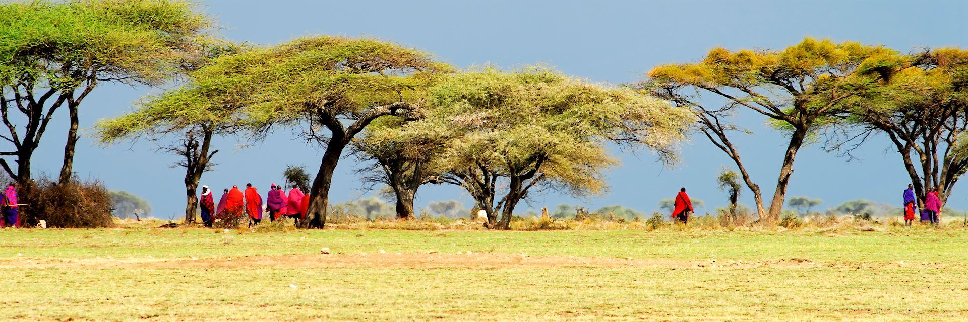 Massai in Tanzania