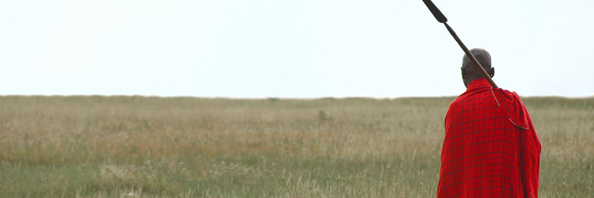 Maasai warrior in Arusha