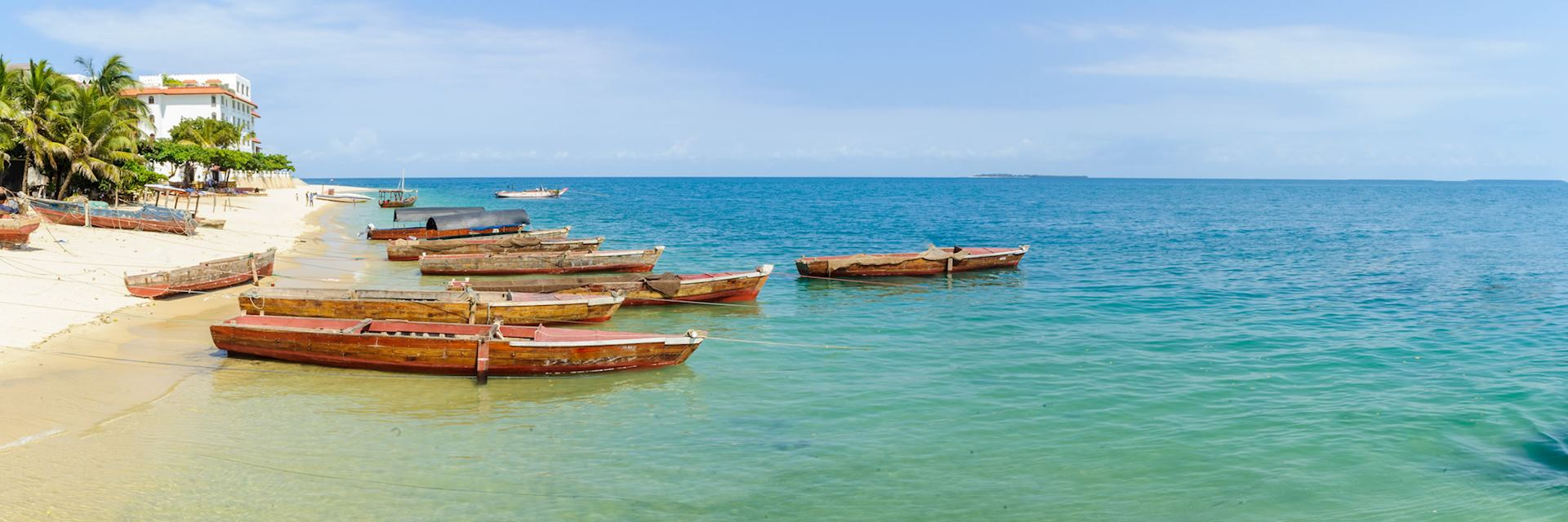 Boats on Tanzania's Swahili Coast