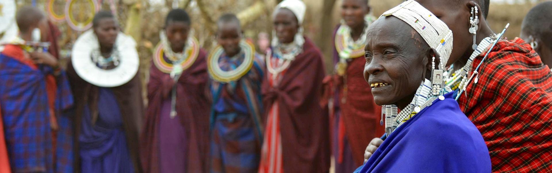 Masai women, Karatu