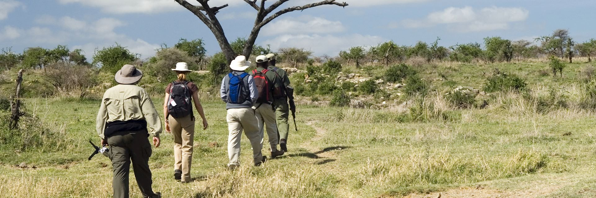 Walking safari in South Luangwa National Park