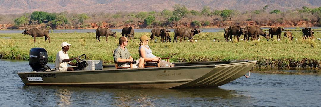 River cruise from Chongwe River House