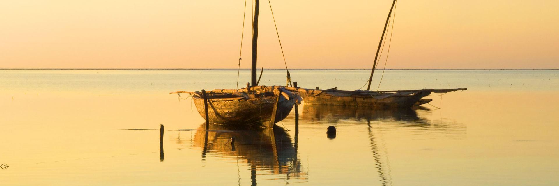 Sunrise on Zanzibar