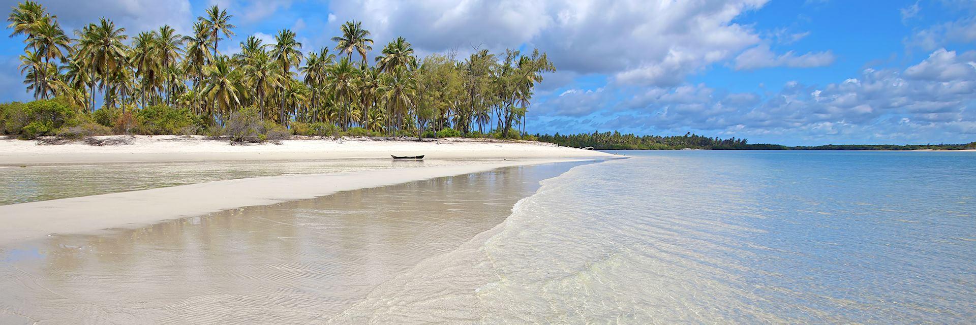 Beautiful beach in the Mafia Archipelago