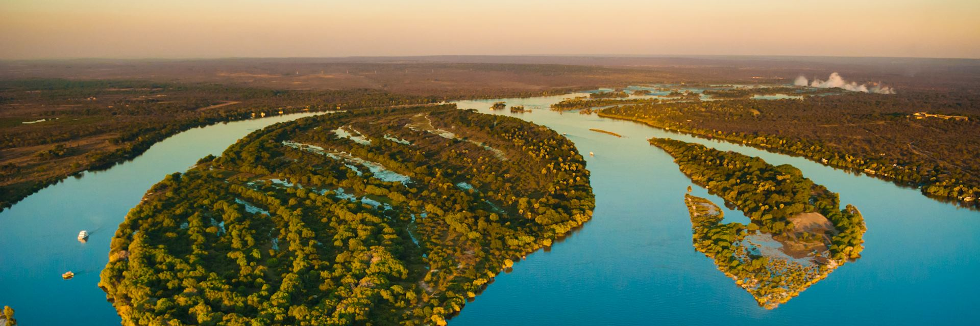 Zambezi River near Victoria Falls