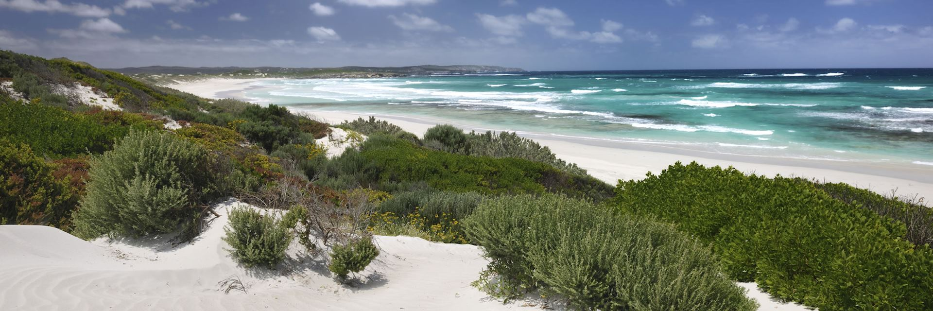 White sand beaches of Kangaroo Island