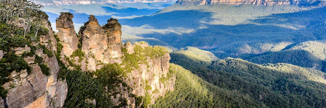 Three sisters, Blue Mountains near Sydney