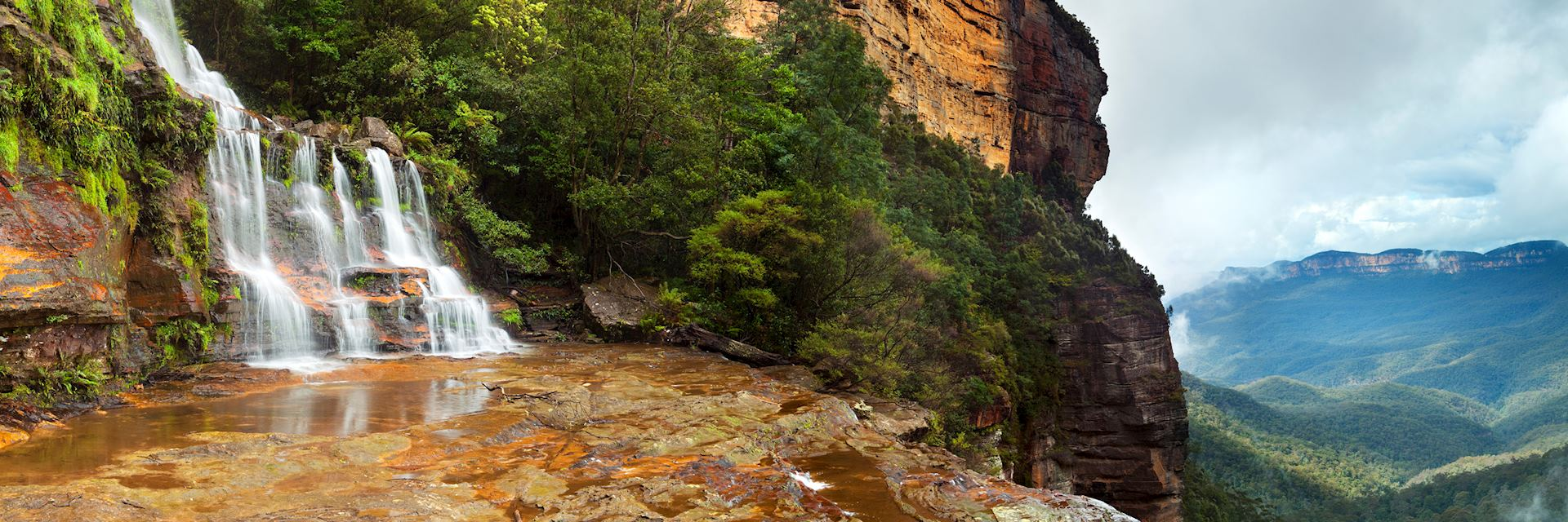 Katoomba Falls in the Blue Mountains, New South Wales