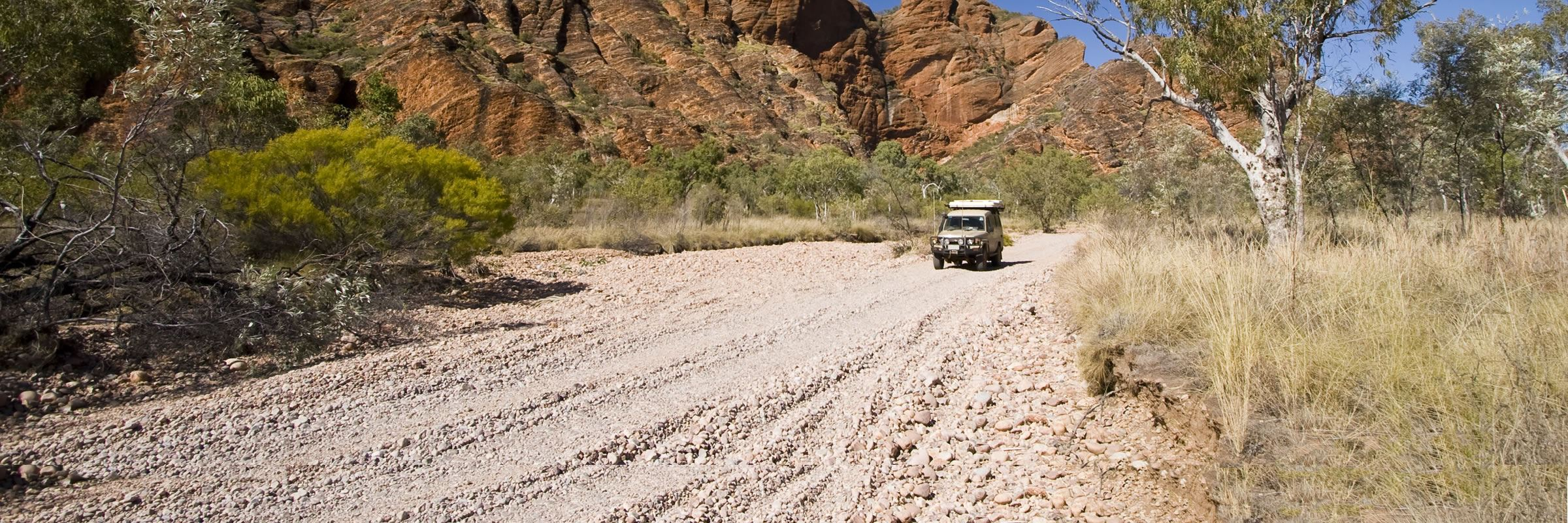 4x4 tip in the Bungle Bungles, Australia