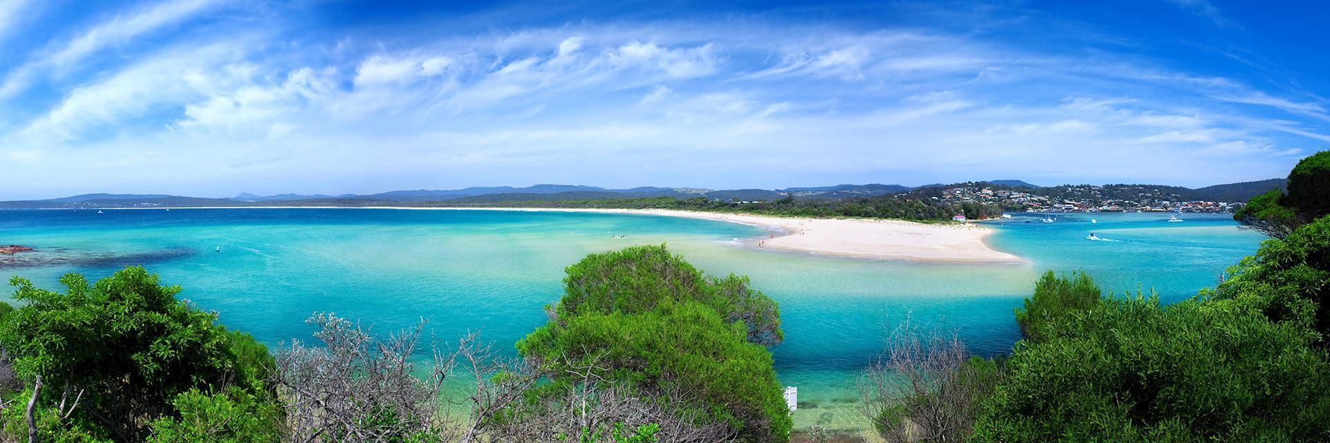Merimbula coastline