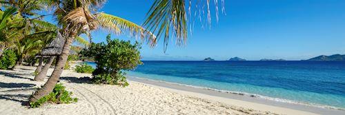 Mamanuca Islands beach