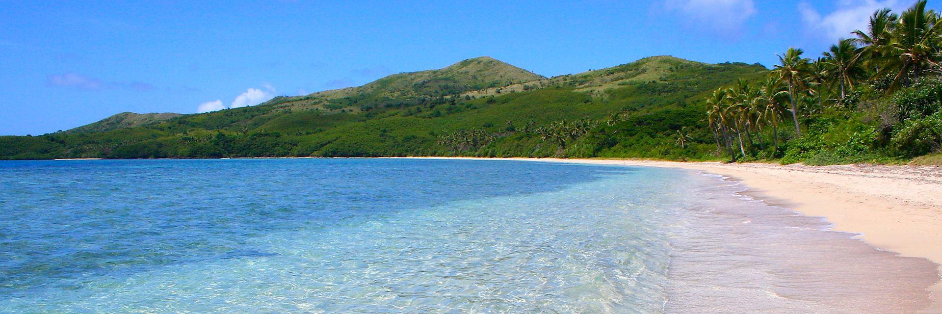 Yasawa Islands beach, Fiji