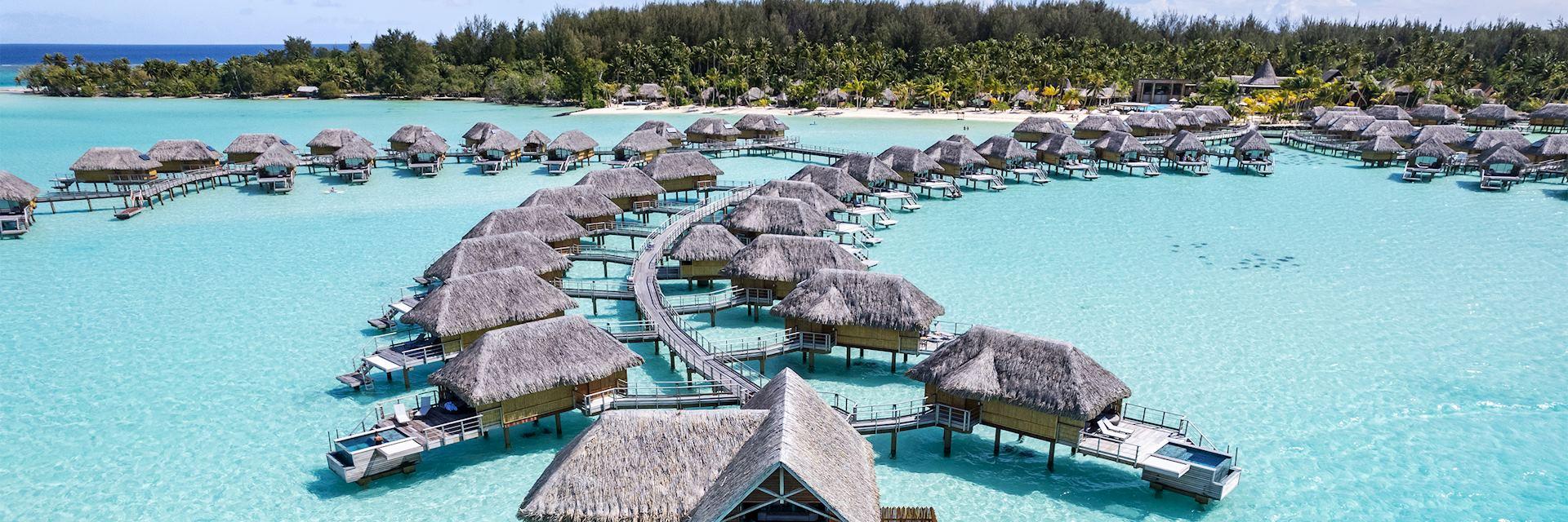 Aeriel view, Le Bora Bora by Pearl Resorts
