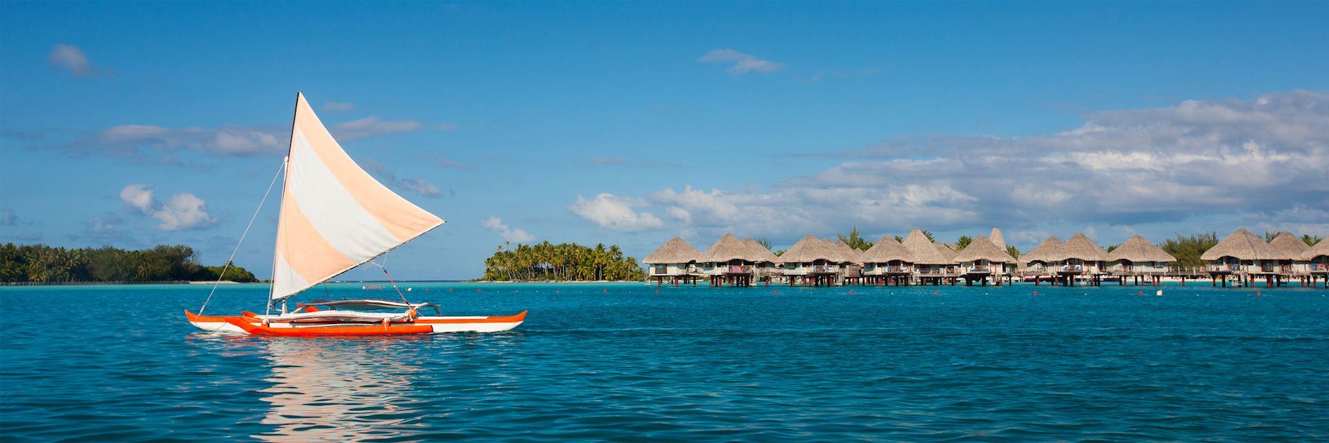Bora Bora Lagoon in French Polynesia