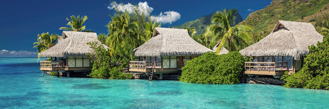 A resort on the island of Moorea