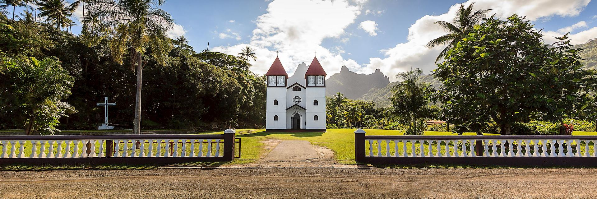 Catholic church, Moorea Island