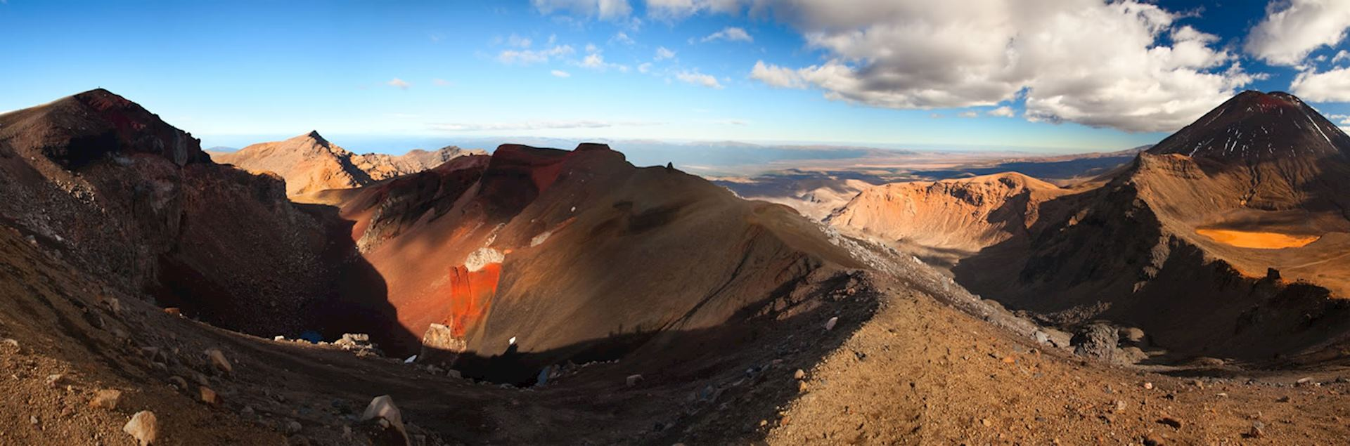 Mount Ngauruhoe, Tongariro National Park, North Island