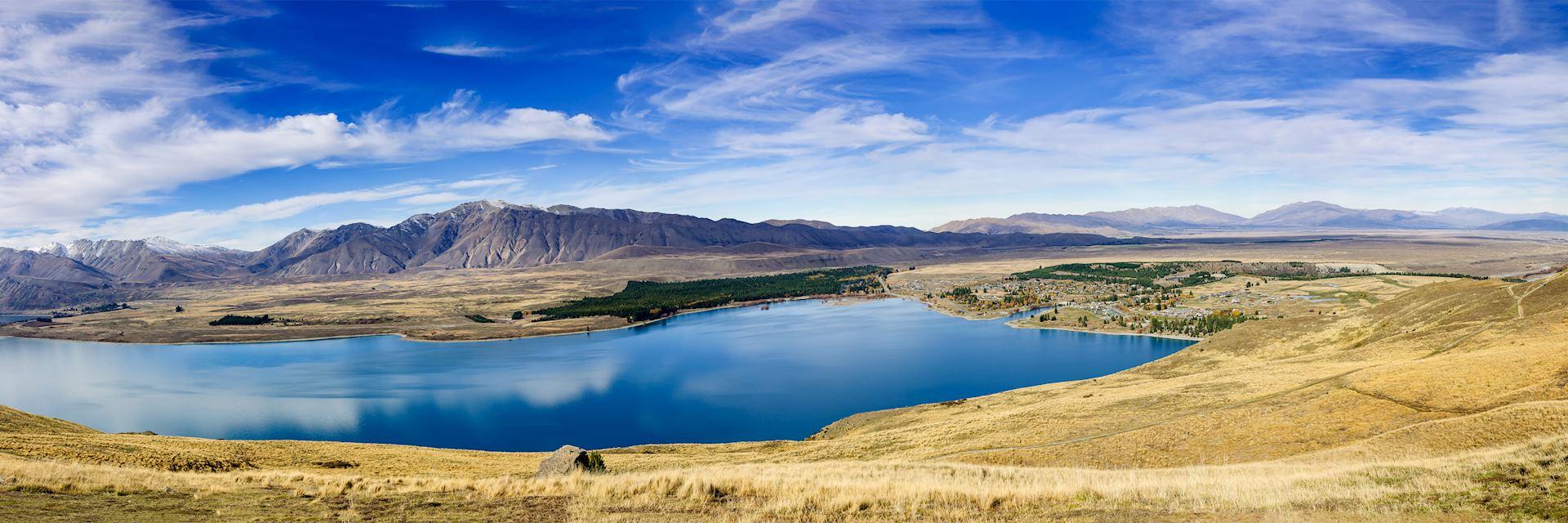 Tekapo Lake, New Zealand