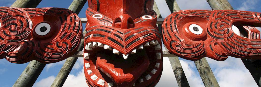Maori carving, Rotorua