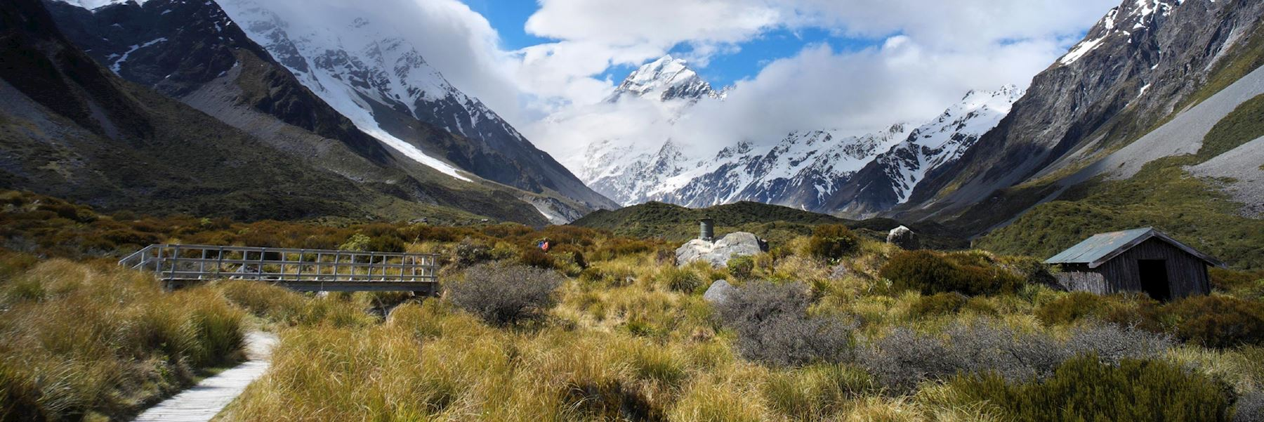 Visit Mount Cook National Park, New Zealand
